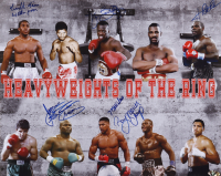 """Heavyweights of the Ring 16x20 Photo Signed by (5) With """"Terrible"""" Tim Witherspoon, """"Merciless"""" Ray Mercer, James """"Buster"""" Douglas (MAB Hologram) at PristineAuction.com"""
