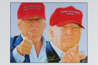 "Anthony Douglas Signed ""Donald Trump"" 12x18 LE Lithograph (Pristine Auction LOA) at PristineAuction.com"