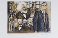 """Anthony Douglas Signed """"The Promise Land"""" 12x18 LE Lithograph (Pristine Auction LOA) at PristineAuction.com"""