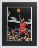 "Anthony Douglas Signed ""Michael Jordan"" 16x20 LE Custom Matted Lithograph (Pristine Auction LOA) at PristineAuction.com"