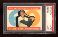 Willie Mays 1960 Topps #564 AS (PSA 8) (OC) at PristineAuction.com