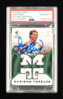 Larry Bird Signed 2007-08 SP Rookie Threads Maximum Threads #MTLB #20/25 (PSA Encapsulated) at PristineAuction.com