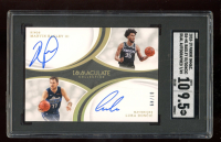Luka Doncic / Marvin Bagley III 2018-19 Immaculate Collection Dual Autographs #36 EXCH #7/49 (SGC 9.5) at PristineAuction.com