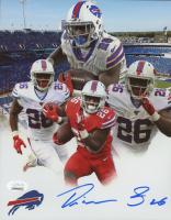 Devin Singletary Signed Bills 8x10 Photo (JSA COA) at PristineAuction.com
