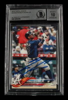 Ronald Acuna Jr. Signed 2018 Topps Update #US250 RC (BGS Encapsulated) at PristineAuction.com