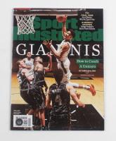 Giannis Antetokounmpo Signed 2019 Sports Illustrated Magazine (Beckett COA) at PristineAuction.com