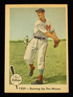 Ted Williams 1959 Fleer #12 Burning Up Minors at PristineAuction.com