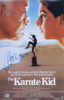 "Ralph Macchio Signed ""The Karate Kid"" 11x17 Photo (Beckett COA) at PristineAuction.com"