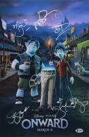 """Disney Pixar: Onward"" 12x18 Photo Signed by (6) with Chris Pratt, Mel Rodriguez, Octavia Spencer & Jeff Danna (Beckett LOA) at PristineAuction.com"