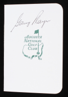 Gary Player Signed Augusta National Masters Score Card (JSA COA) at PristineAuction.com