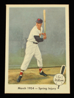 Ted Williams 1959 Fleer #50 1954 Spring Injury at PristineAuction.com