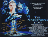 """Noah Hathaway Signed """"The Never Ending Story"""" 11x14 Photo with Multiple Inscriptions (AutographCOA COA) at PristineAuction.com"""