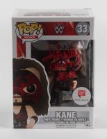 "Kane Signed #33 WWE Funko Pop! Vinyl Figure Inscribed ""H.O.F. 2021"" (JSA COA) at PristineAuction.com"