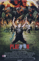 """Kevin Dillon Signed """"Platoon"""" 11x17 Photo (Beckett COA) at PristineAuction.com"""