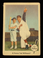 Ted Williams 1959 Fleer #69 A Future Ted Williams at PristineAuction.com