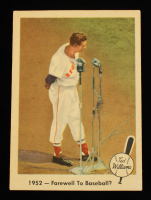 Ted Williams 1959 Fleer #45 Farewell to Baseball at PristineAuction.com