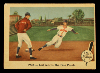 Ted Williams 1959 Fleer #4 Learns Fine Points at PristineAuction.com