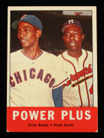 Ernie Banks / Hank Aaron 1963 Topps #242 Power Plus at PristineAuction.com