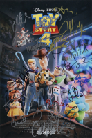 """""""Disney Pixar: Toy Story 4"""" 12x18 Photo Signed by (19) with Mel Brooks, Patricia Arquette, Randy Newman & Tim Allen (ACOA LOA) at PristineAuction.com"""