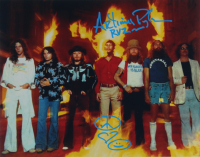"""Artimus Pyle Signed Lynyrd Skynyrd 11x14 Photo Inscribed """"RVZ"""" with Hand Drawn Sketch (AutographCOA Hologram) at PristineAuction.com"""