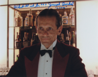 """Joe Turkel Signed """"The Shining"""" 11x14 Photo Inscribed """"Lloyd"""" & """"What'll it be???"""" (AutographCOA COA) at PristineAuction.com"""