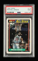 Michael Jordan 1992-93 Topps #115 AS (PSA 9) at PristineAuction.com