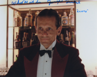 """Joe Turkel Signed """"The Shining"""" 11x14 Photo Inscribed """"Lloyd"""" & """"What'll it be???"""" (AutographCOA Hologram) at PristineAuction.com"""