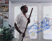 "Donald Fullilove Signed ""Back to The Future"" 11x14 Photo Inscribed ""Goldie Wilson"" (AutographCOA COA) at PristineAuction.com"