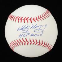 "Whitey Herzog Signed OML Baseball Inscribed ""HOF 2010"" (PSA COA & JSA Hologram) at PristineAuction.com"