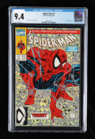 """1990 """"Spider-Man: Torment"""" Vol. 1 Issue #1 Green Edition Todd McFarlane Variant Marvel Comic Book (CGC 9.4) at PristineAuction.com"""