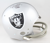 """Jim Otto Signed Radiers Full-Size Throwback Suspension Helmet Inscribed """"HOF 1980"""" (JSA COA) at PristineAuction.com"""
