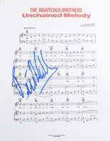 """Bill Medley Signed """"Unchained Melody"""" 8.5x11 Sheet of Music (ACOA COA) at PristineAuction.com"""
