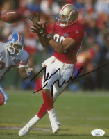 Jerry Rice Signed 49ers 8x10 Photo (JSA COA) at PristineAuction.com