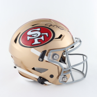 Joe Montana Signed 49ers Full-Size Authentic On-Field Speedflex Helmet (JSA COA) at PristineAuction.com
