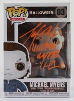 "Tony Moran Signed ""Halloween"" #03 Michael Myers Funko Pop! Vinyl Figure Inscribed ""Michael Myers"" & ""H1"" (JSA COA) at PristineAuction.com"