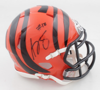 A.J. Green Signed Bengals Speed Mini Helmet (Fanatics Hologram) at PristineAuction.com