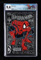 """1990 """"Spider-Man: Torment"""" Vol. 1 Issue #1 Silver Edition Marvel Comic Book (CGC 9.4) at PristineAuction.com"""