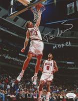 "Toni Kukoc Signed Bulls 8x10 Photo Inscribed ""HOF 21"" (JSA COA) at PristineAuction.com"