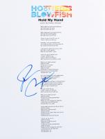 "Darius Rucker Signed ""Hold My Hand"" 8.5x11 Song Lyrics Sheet (ACOA COA) at PristineAuction.com"