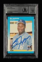 Bo Jackson Signed 1987 Fleer #369 RC (BGS Encapsulated) at PristineAuction.com
