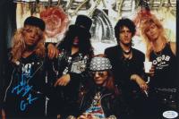 """Steven Adler Signed Guns N' Roses 8x12 Photo Inscribed """"GR"""" (ACOA COA) at PristineAuction.com"""