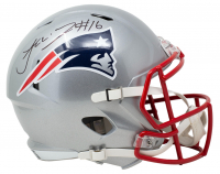 Jakobi Meyers Signed Patriots Full-Size Speed Helmet (JSA COA) at PristineAuction.com