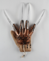 """Michael Bailey Smith Signed """"A Nightmare on Elm Street"""" Freddy Krueger Replica Glove Inscribed """"Super Freddy"""" (Legends COA) at PristineAuction.com"""