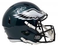 Jalen Hurts Signed Eagles Full-Size Speed Helmet (PSA COA) at PristineAuction.com