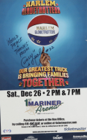 """Curly Neal Signed Globetrotters 11x17 Print Inscriberd """"World Peace And Thanks From"""" (PSA COA) (See Description) at PristineAuction.com"""