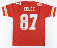 Travis Kelce Signed Jersey (Beckett Hologram) at PristineAuction.com