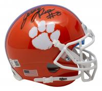 Justyn Ross Signed Clemson Tigers Mini Helmet (Beckett COA) at PristineAuction.com