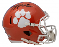 Justyn Ross Signed Clemson Tigers Full-Size Speed Helmet (Beckett COA) at PristineAuction.com