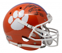 Justyn Ross Signed Clemson Tigers Full-Size Helmet (Beckett COA) at PristineAuction.com