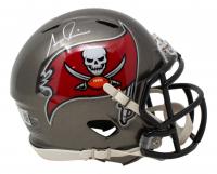 Simeon Rice Signed Buccaneers Speed Mini Helmet (Beckett COA) at PristineAuction.com